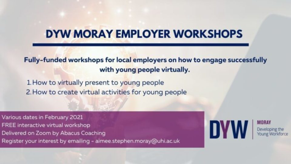 DYW Moray : How To Engage Successfully with Young People Virtually