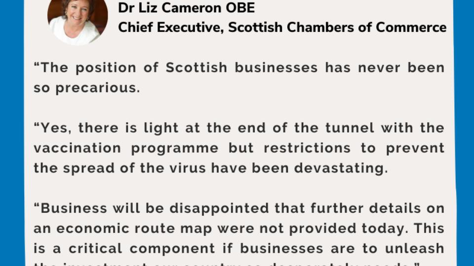 SCC Response To Scottish Budget 2021-2022