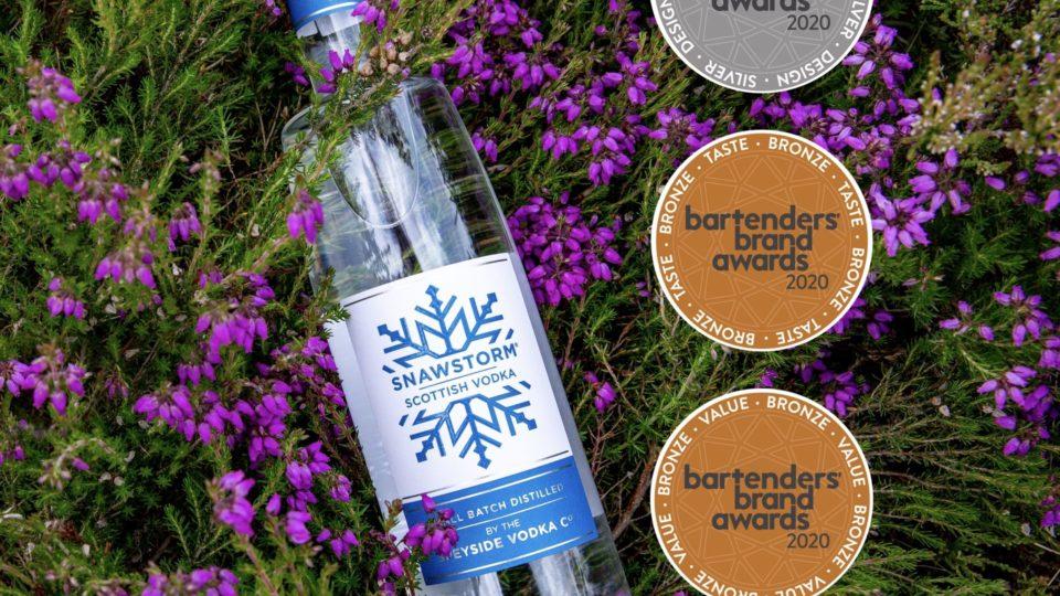 Snawstorm Vodka Served Up Three Awards