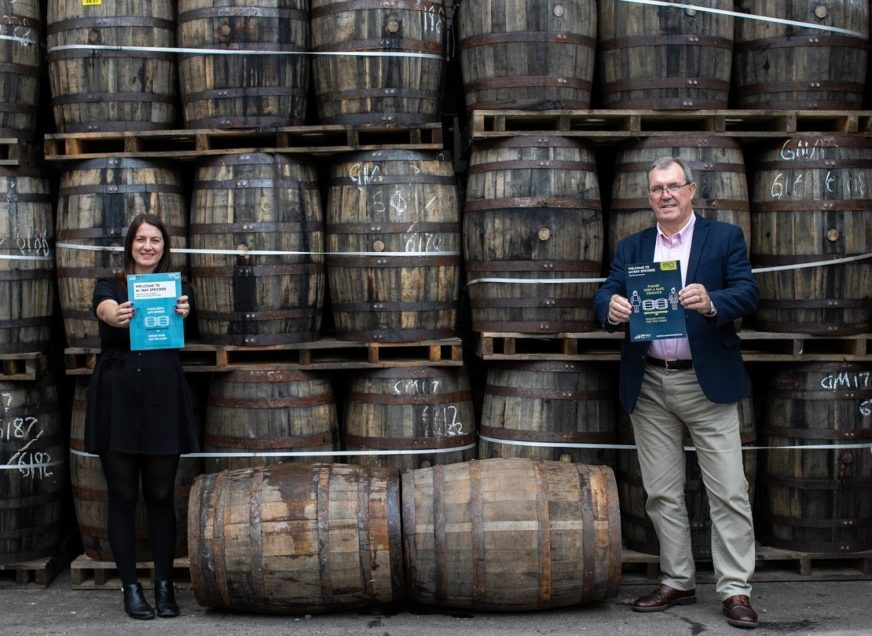 MORAY GETS BEHIND SPIRIT OF TWO CASKS SOCIAL DISTANCING