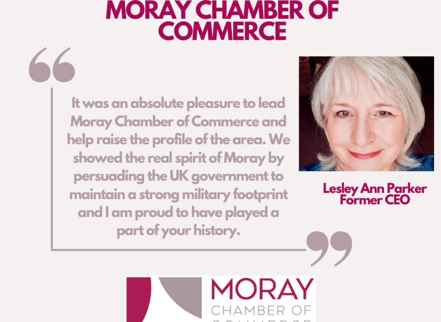 Celebrating 20 years! We hear from former CEO Lesley Ann Parker