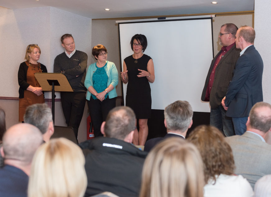 Moray Business Summit – Banging the Drum for Moray