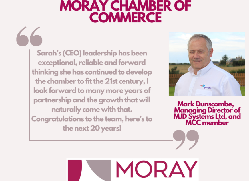 Celebrating 20 years! We hear from Mark Dunscombe