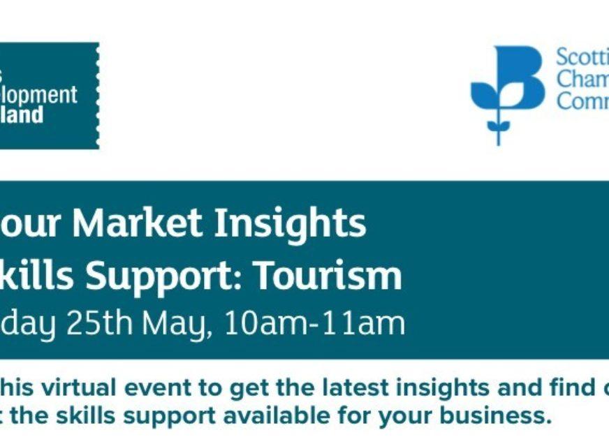 Skills Development Scotland on Labour Market Insights & Skills focusing on the Tourism sector