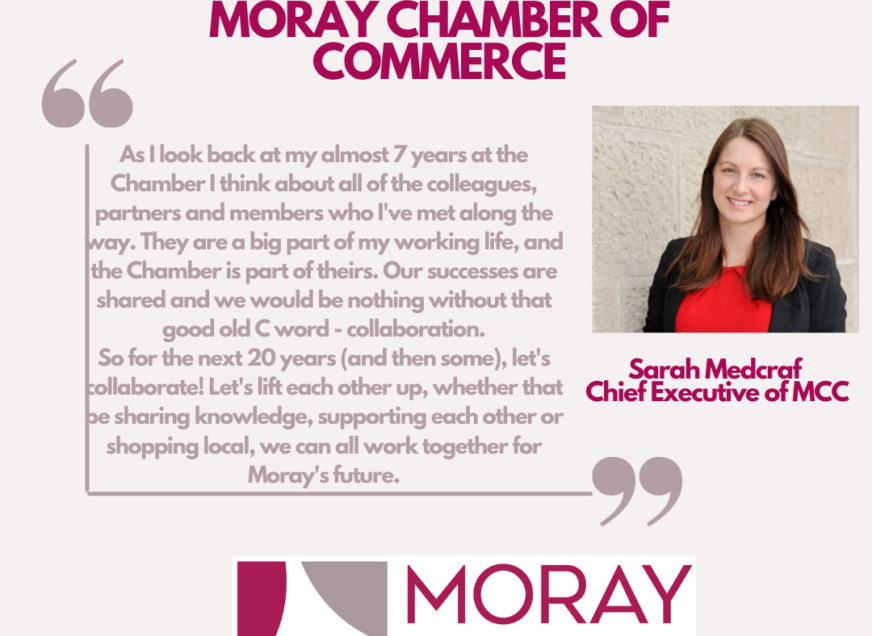 Celebrating 20 years! We hear from Sarah Medcraf