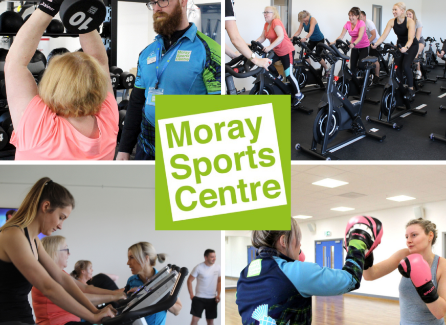 Moray Sports Centre   It's a marathon not a sprint