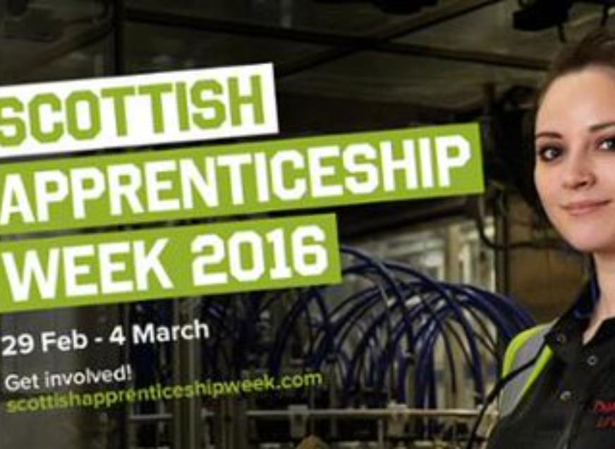 Scottish Apprenticeship Week - February 29th - March 4th 2016