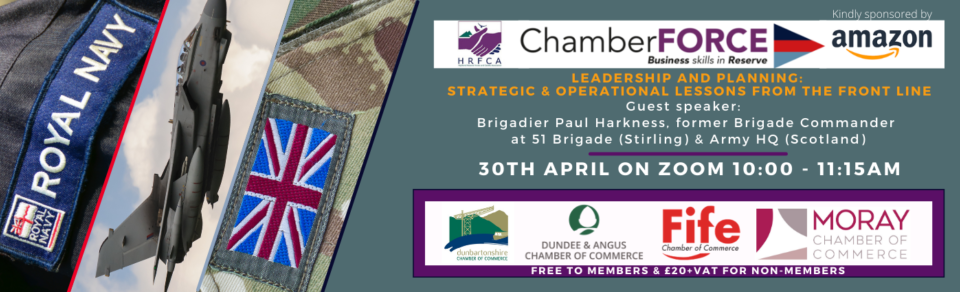 CHAMBERFORCE: STRATEGIC AND OPERATIONAL LESSONS FROM THE FRONT LINE