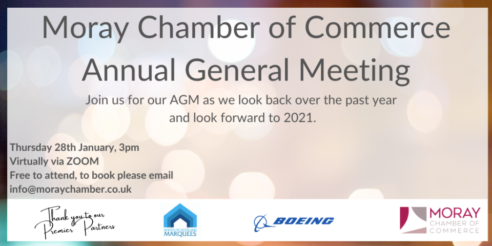 MORAY CHAMBER OF COMMERCE ANNUAL GENERAL MEETING