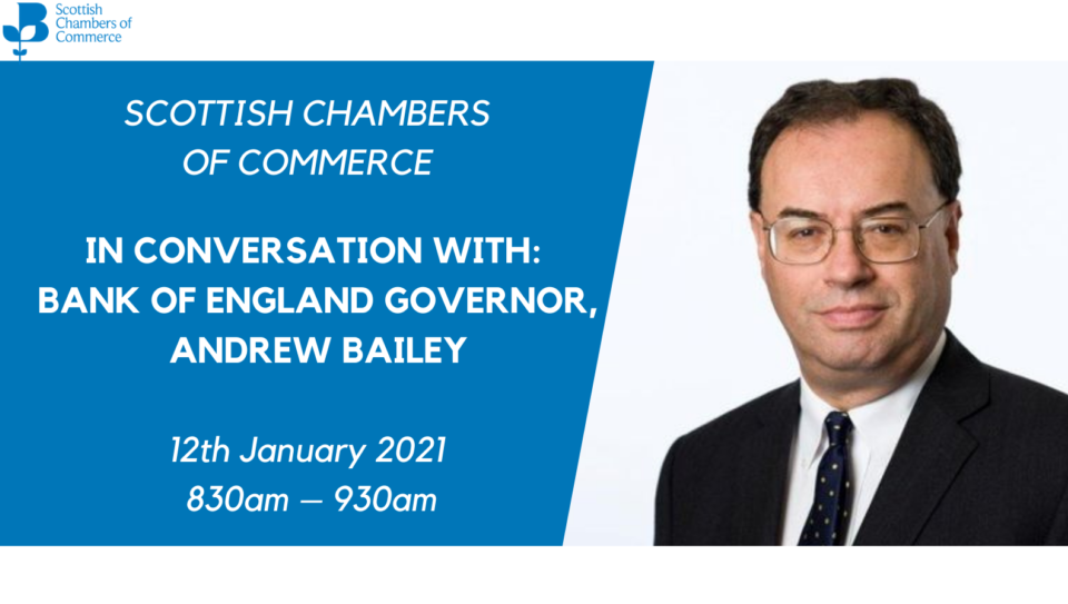 IN CONVERSATION WITH BANK OF ENGLAND GOVERNOR, ANDREW BAILEY