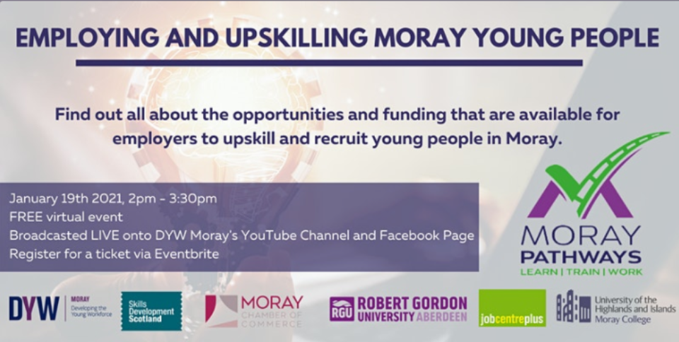 EMPLYING AND UPSKILLING MORAY'S YOUNG PEOPLE