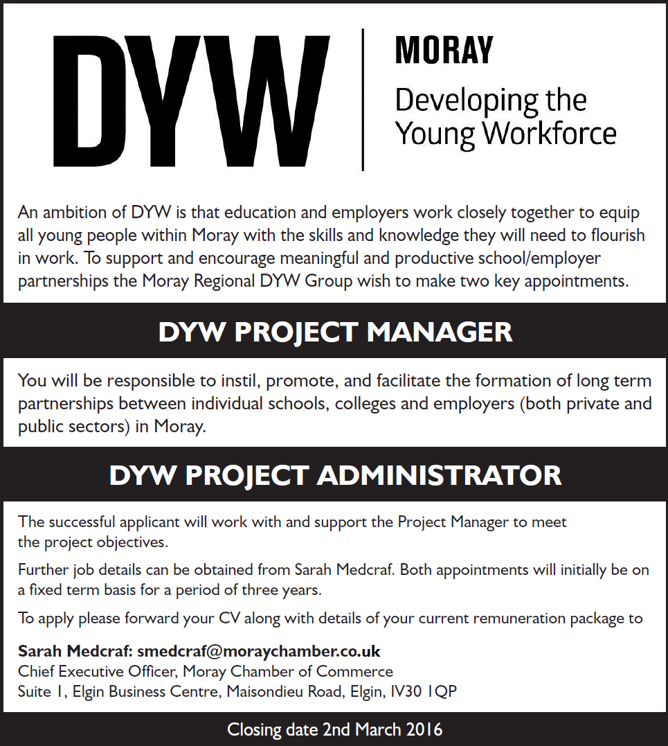 DYW Vacancies