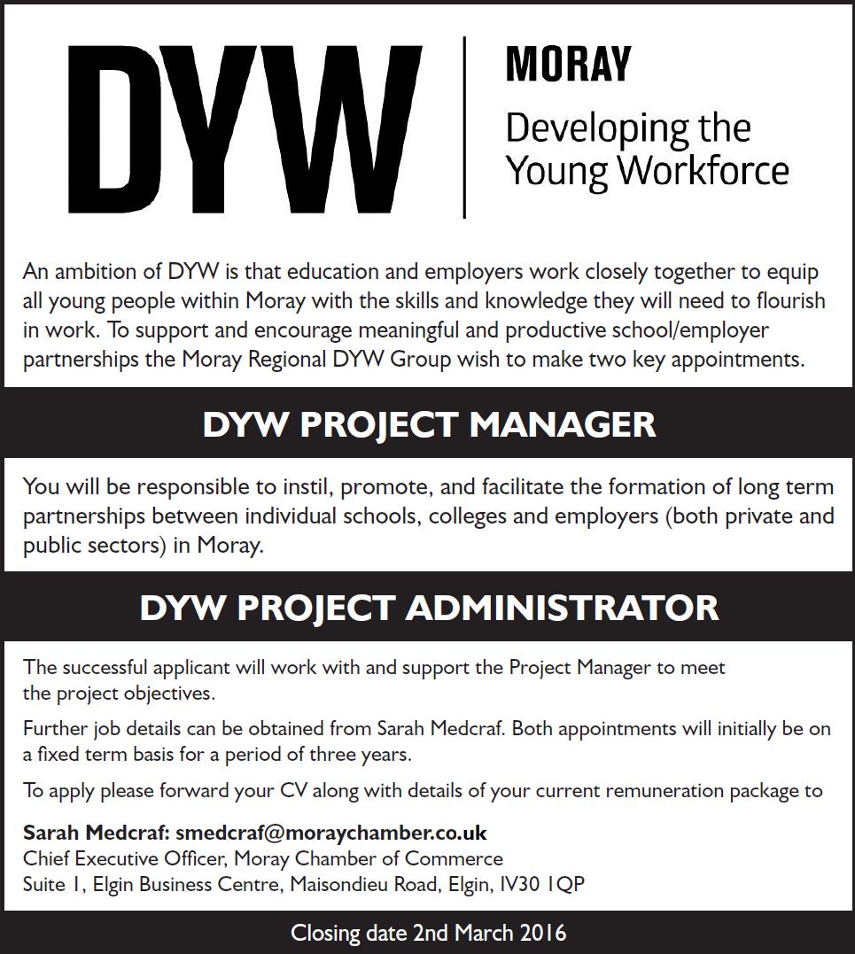 DYW Vacancies