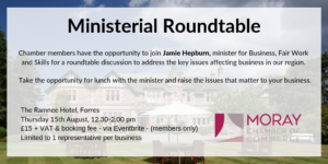 Ministerial Roundtable with Jamie Hepburn