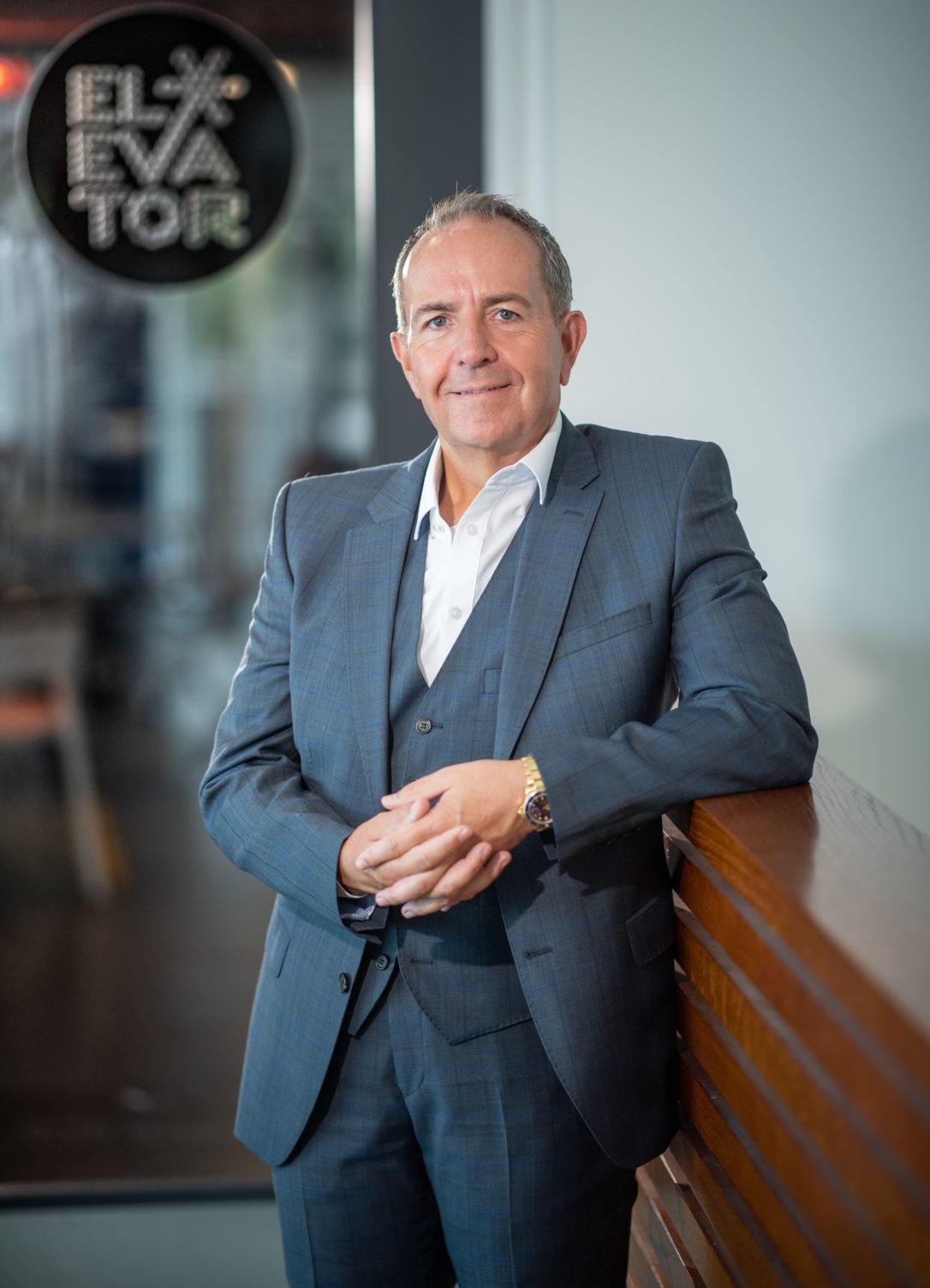 Gary McEwen, Elevator CEO